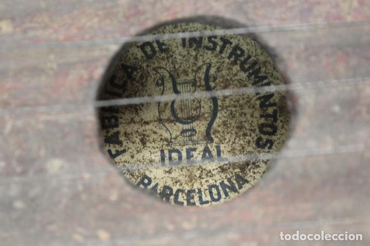 Instrumentos musicales: CITARA DE MADERA. FABRICA DE INSTRUMENTOS IDEAL, BARCELONA. MEDIADOS S.XX. - Foto 5 - 128541451