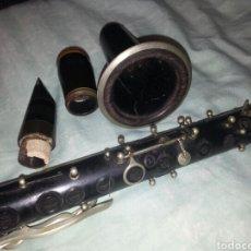 Instrumentos musicales: CLARINETE SELMET. A RESTAURAR. AÑOS 50S.. Lote 128778756