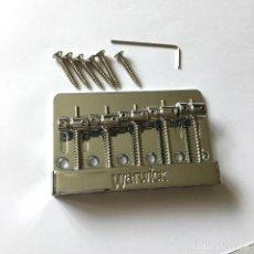 Instrumentos musicales: PUENTE PARA BAJO WARWICK 5 CUERDAS. Lote 129111203