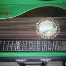 Instrumentos musicales: ARPA O CITARA ,BUENISIMO ESTADO ,CAJA ORIGINAL. Lote 129183435