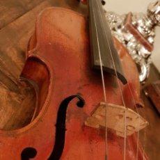 """Instrumentos musicales: VIOLÍN ANTIGUO, GRABADO """"VUILLAUME Á PARIS"""". Lote 129326671"""