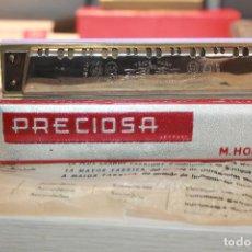 Instrumentos musicales: ARMÓNICA NUEVA A ESTRENAR HONHER *PRECIOSA* DIATÓNICA 40 VOCES. MÁS INFORMACIÓN Y 6 FOTOS.. Lote 129338067