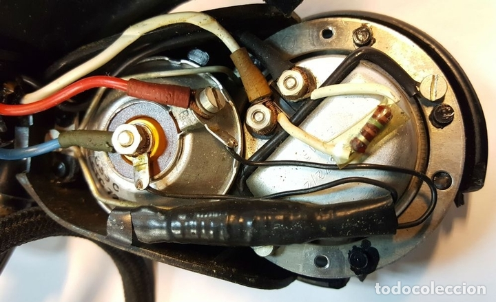 Instrumentos musicales: AURICULARES DE TELEFONISTA. BAQUELITA. DOBLE MEMBRANA. CIRCA 1940. - Foto 2 - 129629259