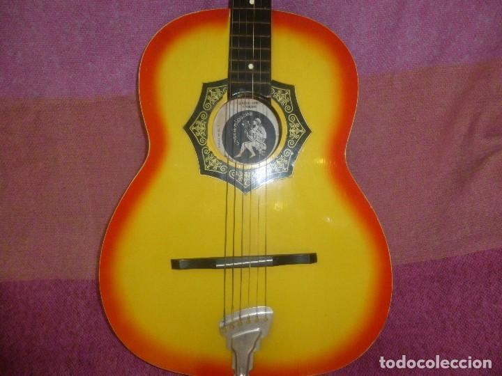 GUITARRA ACUSTICA RUSA ORFEUS 1971 (Música - Instrumentos Musicales - Guitarras Antiguas)