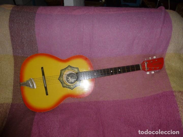 Instrumentos musicales: guitarra acustica rusa orfeus 1971 - Foto 2 - 130315590
