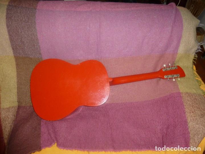 Instrumentos musicales: guitarra acustica rusa orfeus 1971 - Foto 3 - 130315590