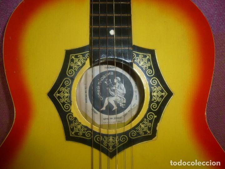 Instrumentos musicales: guitarra acustica rusa orfeus 1971 - Foto 6 - 130315590