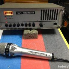 Instrumentos musicales: MICROFONO CON RECEPTOR SENNHEISER SKM 4031. Lote 130509122