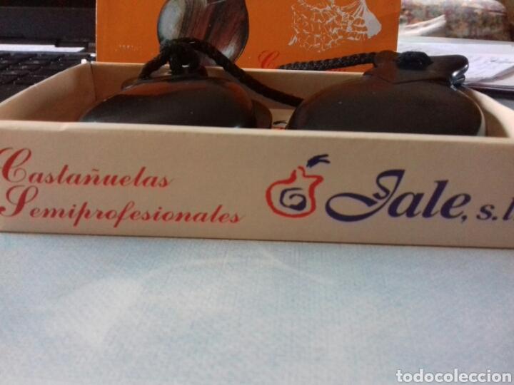 Instrumentos musicales: Castañuelas de madera - Foto 3 - 40368898
