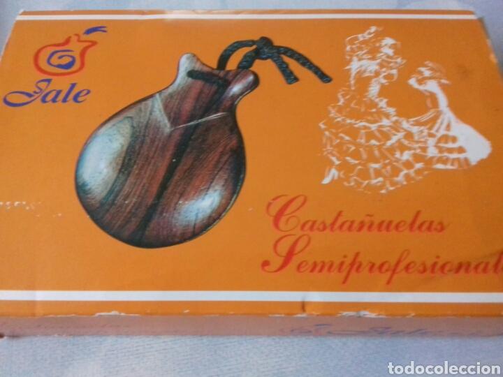 Instrumentos musicales: Castañuelas de madera - Foto 4 - 40368898