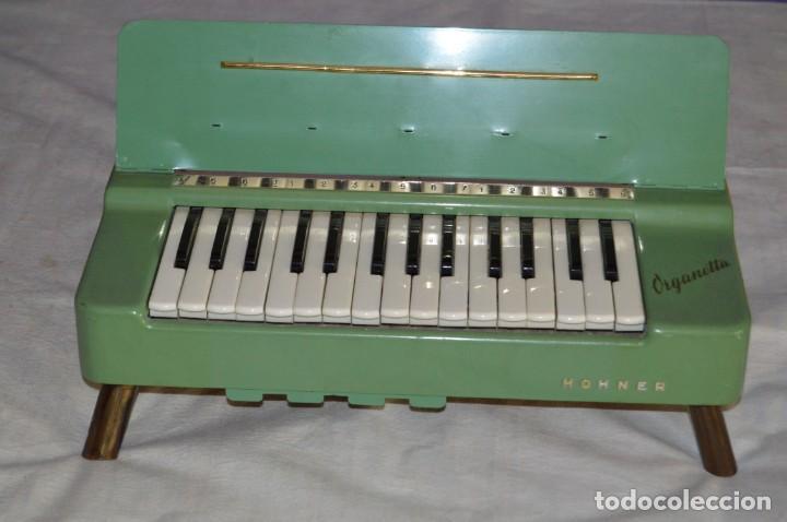 Instrumentos musicales: JOYA - HOHNER ORGANETTA - FUNCIONANDO - PRECIOSA - FUNCIONA A 220V - VINTAGE - ENVÍO 24H - Foto 2 - 130552014