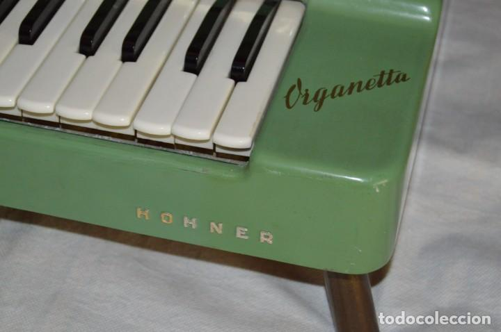 Instrumentos musicales: JOYA - HOHNER ORGANETTA - FUNCIONANDO - PRECIOSA - FUNCIONA A 220V - VINTAGE - ENVÍO 24H - Foto 3 - 130552014