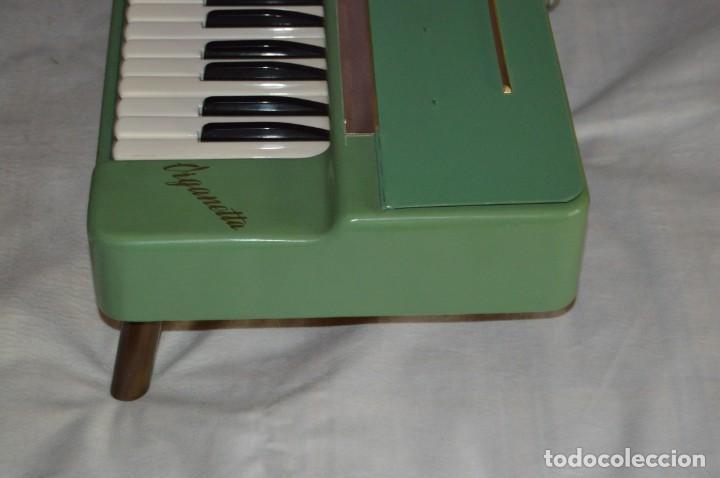 Instrumentos musicales: JOYA - HOHNER ORGANETTA - FUNCIONANDO - PRECIOSA - FUNCIONA A 220V - VINTAGE - ENVÍO 24H - Foto 8 - 130552014