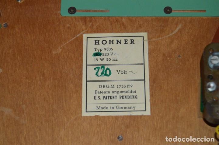 Instrumentos musicales: JOYA - HOHNER ORGANETTA - FUNCIONANDO - PRECIOSA - FUNCIONA A 220V - VINTAGE - ENVÍO 24H - Foto 10 - 130552014