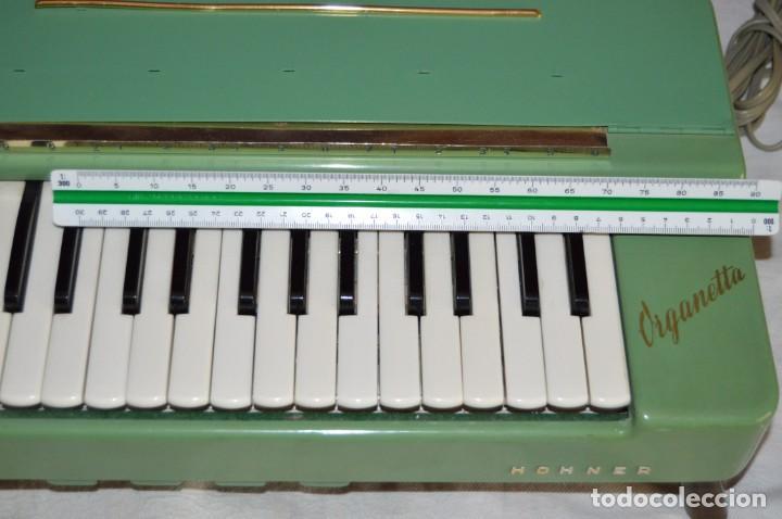 Instrumentos musicales: JOYA - HOHNER ORGANETTA - FUNCIONANDO - PRECIOSA - FUNCIONA A 220V - VINTAGE - ENVÍO 24H - Foto 15 - 130552014