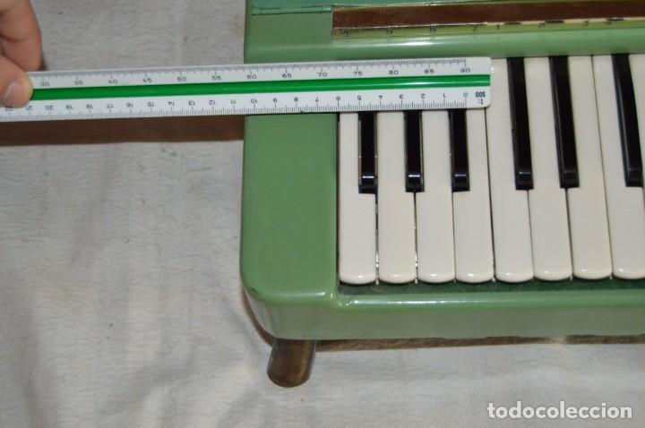Instrumentos musicales: JOYA - HOHNER ORGANETTA - FUNCIONANDO - PRECIOSA - FUNCIONA A 220V - VINTAGE - ENVÍO 24H - Foto 16 - 130552014