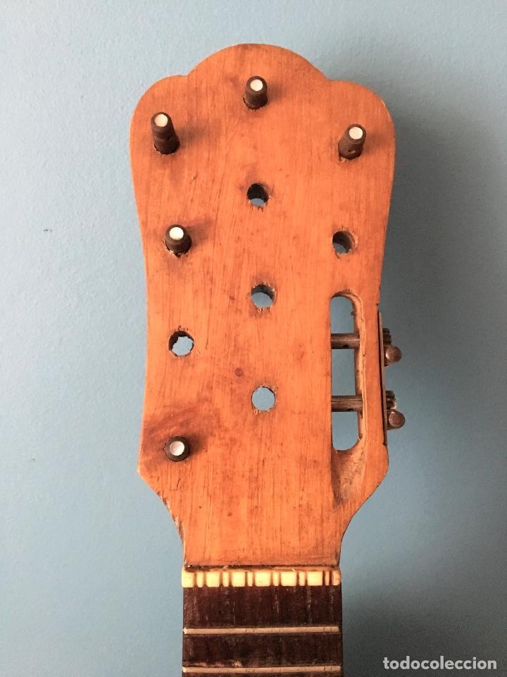 Instrumentos musicales: Preciosa Bandurria JOSÉ SERRATOSA - Antigua fabrica de Guitarra C/ Ancha 50 Barcelona - Foto 2 - 130788444