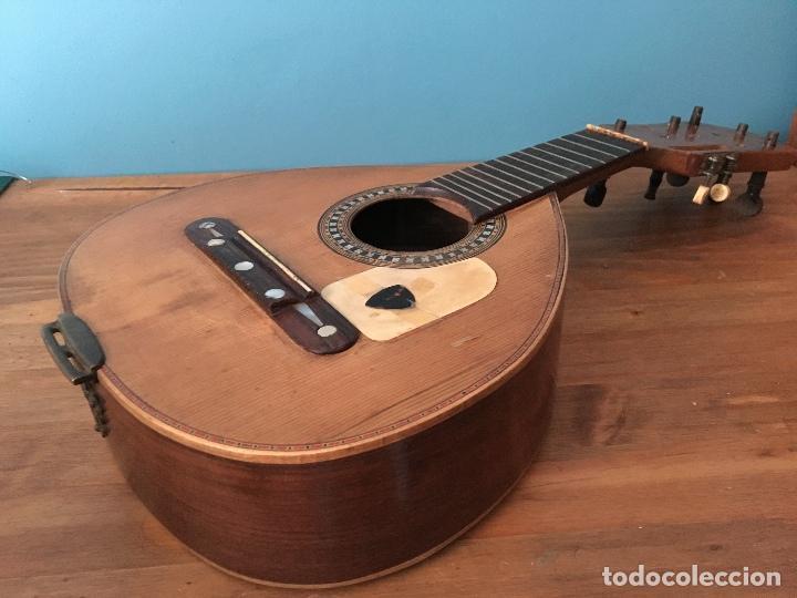 Instrumentos musicales: Preciosa Bandurria JOSÉ SERRATOSA - Antigua fabrica de Guitarra C/ Ancha 50 Barcelona - Foto 14 - 130788444