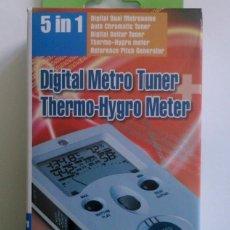 Instrumentos musicales: METRÓNOMO AFINADOR DIGITAL METRO TUNER IMT-301 INTELLI - FOTOS ADICIONALES. Lote 130811524