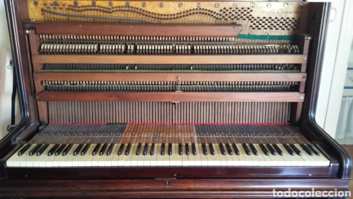 Instrumentos musicales: Piano Collard & Collard de mediados del siglo XIX - Foto 7 - 107631420