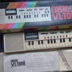Instrumentos musicales: TECLADO CASIO VL-TONE VL-1CON CAJE E INSTRUCCIONES CALCULADORA. Lote 131067020