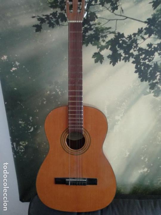 GUITARRA PRUDENCIO SÁEZ VALENCIA (Música - Instrumentos Musicales - Guitarras Antiguas)