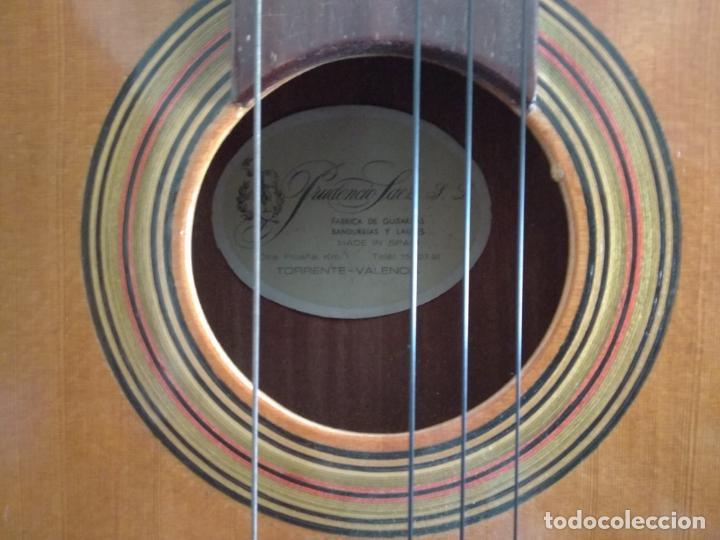 Instrumentos musicales: Guitarra Prudencio Sáez Valencia - Foto 5 - 131100652