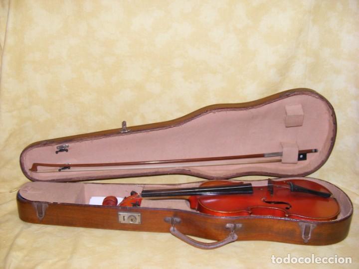 VIOLIN MANSUY (Música - Instrumentos Musicales - Cuerda Antiguos)