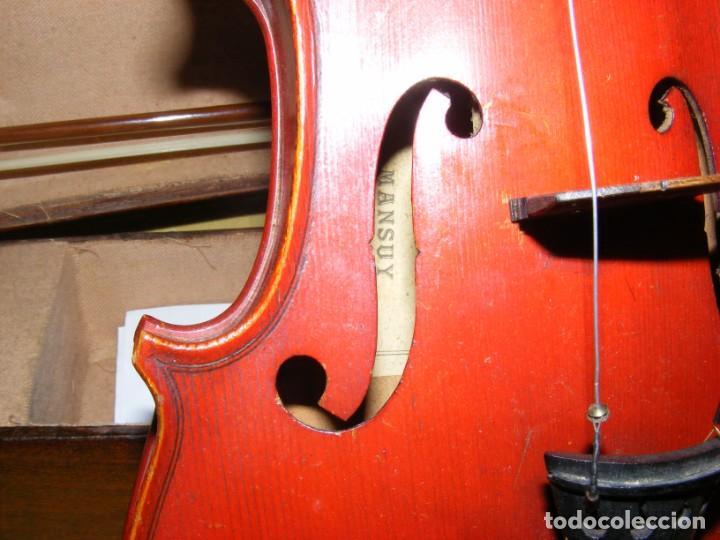 Instrumentos musicales: VIOLIN MANSUY - Foto 9 - 131192264