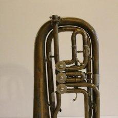 Instrumentos musicales: ANTIGUA TROMPETA. Lote 131296331