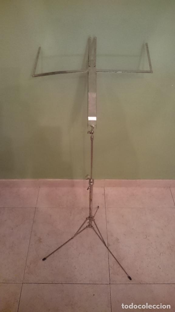 ANTIGUO ATRIL PLEGABLE (Música - Instrumentos Musicales - Accesorios)