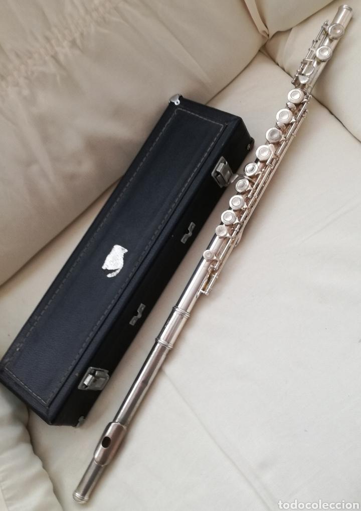 Instrumentos musicales: Antigua Flauta Lafleur. - Foto 3 - 131582893