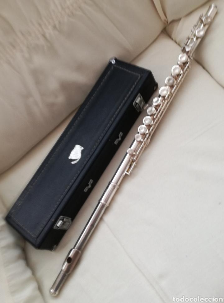 Instrumentos musicales: Antigua Flauta Lafleur. - Foto 6 - 131582893