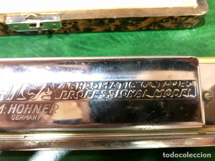Instrumentos musicales: ARMÓNICA PARA COLECCIONISTAS. M. HOHNER, GERMANY. THE 64 CHROMONICA. - Foto 4 - 131892893