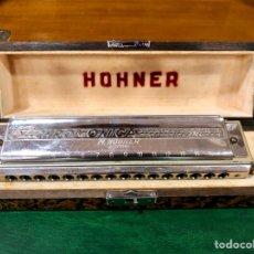 Instrumentos musicales: ARMÓNICA PARA COLECCIONISTAS. M. HOHNER, GERMANY. THE 64 CHROMONICA.. Lote 131892893