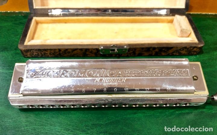 Instrumentos musicales: ARMÓNICA PARA COLECCIONISTAS. M. HOHNER, GERMANY. THE 64 CHROMONICA. - Foto 2 - 131892893
