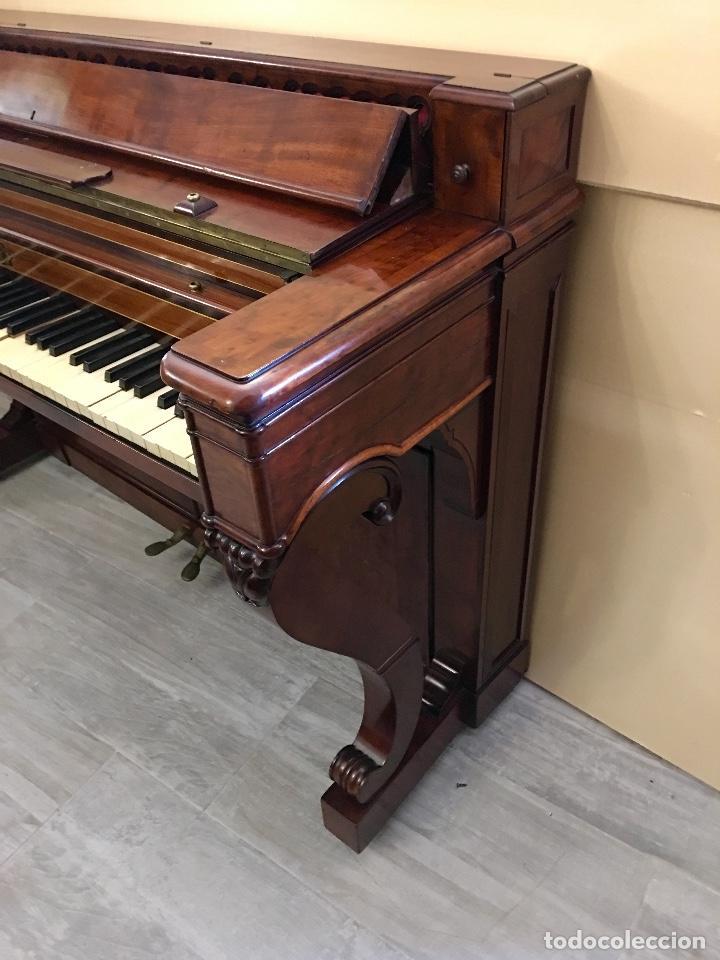 Instrumentos musicales: ANTIGUO PIANO CONSOLA PAPE PARIS - Foto 6 - 131974722