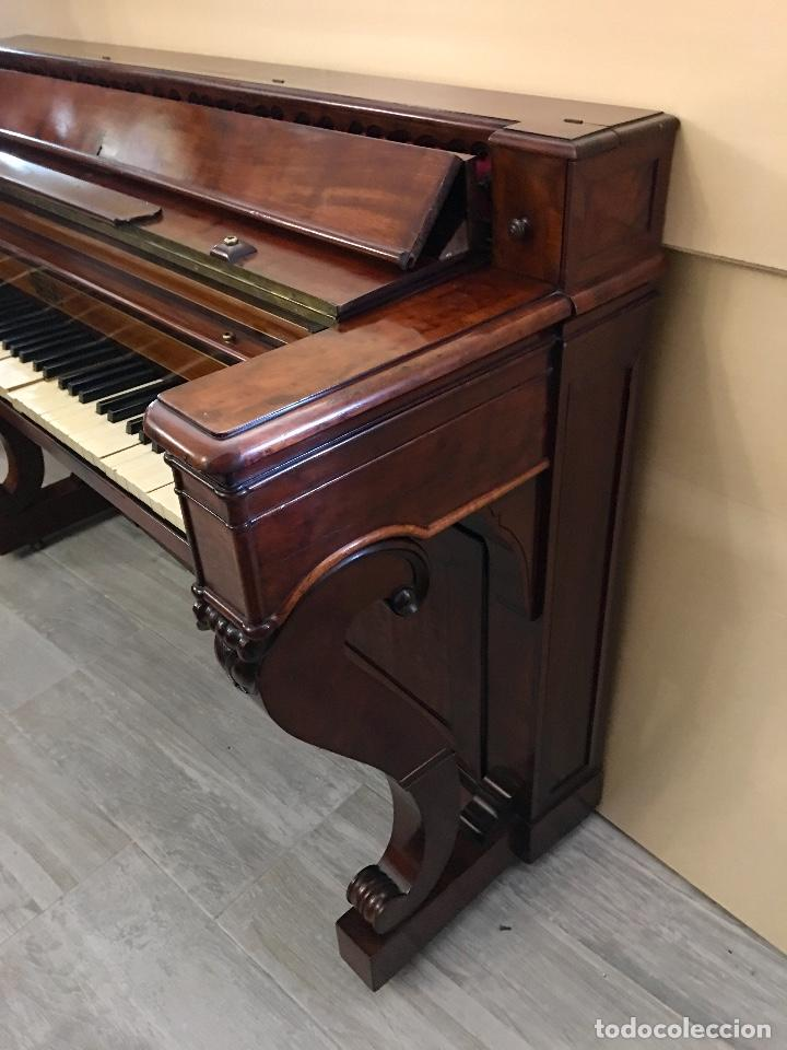 Instrumentos musicales: ANTIGUO PIANO CONSOLA PAPE PARIS - Foto 7 - 131974722