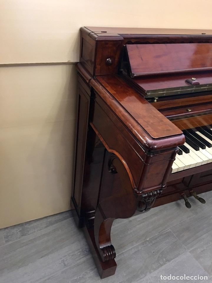 Instrumentos musicales: ANTIGUO PIANO CONSOLA PAPE PARIS - Foto 8 - 131974722