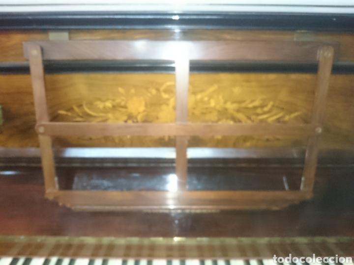 PIANO ANTIGUO SIGLO18 PERFECTO ESTADO EN FUNCIONAMIENTO TECLAS MARFIL ASIENTO ORIGIAL (Música - Instrumentos Musicales - Pianos Antiguos)