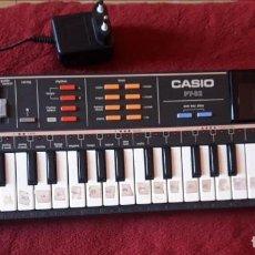 Instrumentos musicales: ANTIGUO TECLADO-PIANO ELECTRICO-CASIO-1986-CON CASIO ROM PACK RO 551. Lote 132220858