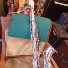 Instrumentos musicales: SAXO TENOR, BOQUILLA DE CALIDAD, CON SU ESTUCHE.. Lote 132271079