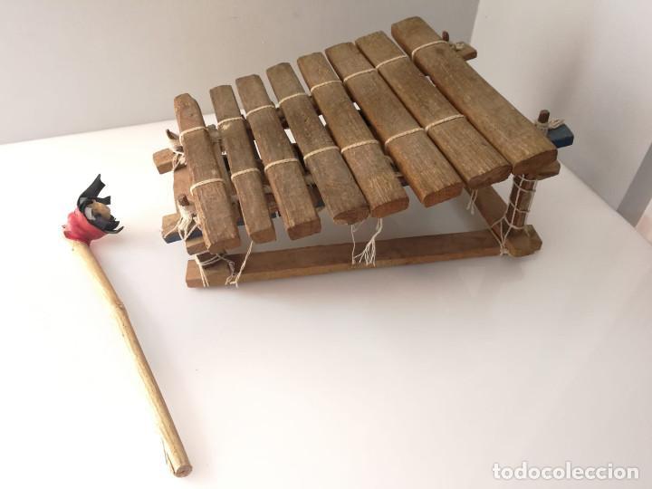 BALAFÓN - INSTRUMENTO AFRICANO - HECHO A MANO XILOFONO (Música - Instrumentos Musicales - Percusión)
