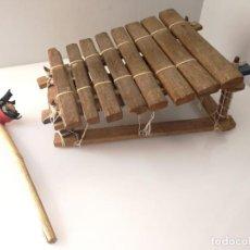 Instrumentos musicales: BALAFÓN - INSTRUMENTO AFRICANO - HECHO A MANO XILOFONO. Lote 132308706