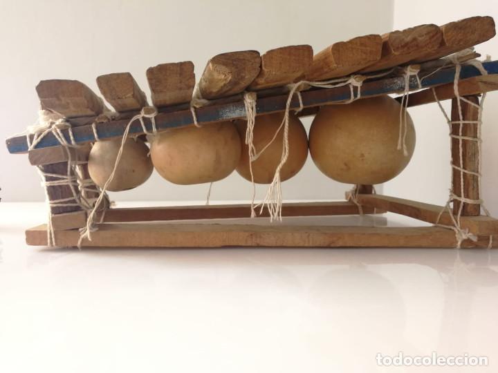Instrumentos musicales: BALAFÓN - INSTRUMENTO AFRICANO - HECHO A MANO XILOFONO - Foto 4 - 132308706