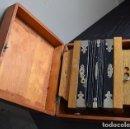 Instrumentos musicales: ACORDEÓN DIATÓNICO FINALES SIGLO XIX, EN SU ESTUCHE DE MADERA. Lote 132341238