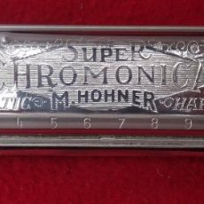 Instrumentos musicales: ARMONICA HOHNNER SUPER CHROMONICA 270 CHROMATIC ESCALA DIATÓNICA EN E .-1. Lote 132539390