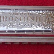 Instrumentos musicales: ARMONICA HOHNNER SUPER CHROMONICA 270 CHROMATIC ESCALA DIATÓNICA EN C. Lote 132543854