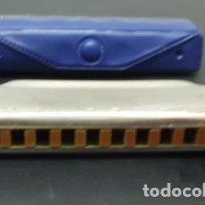Instrumentos musicales: HARMONICA BLUES HARP DE HOHNER. LETRA A. CON ESTUCHE HARMONICA-72. Lote 132561786