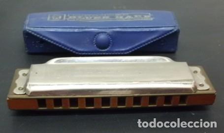 HARMONICA BLUES HARP DE HOHNER. LETRA D. CON ESTUCHE HARMONICA-73 (Música - Instrumentos Musicales - Viento Metal)